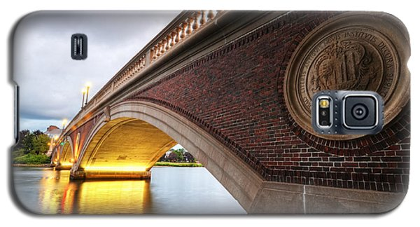 John Weeks Bridge Charles River Harvard Square Cambridge Ma Galaxy S5 Case