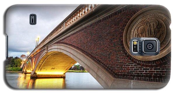 John Weeks Bridge Charles River Harvard Square Cambridge Ma Galaxy S5 Case