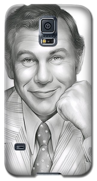 Johnny Carson Galaxy S5 Case - Johnny Carson by Greg Joens