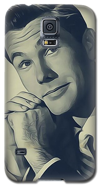 Johnny Carson Galaxy S5 Case - Johnny Carson, Vintage Entertainer by John Springfield