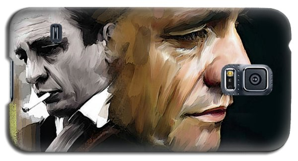 Johnny Cash  Hurt Galaxy S5 Case