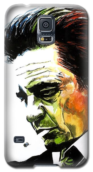 Johnny Cash Galaxy S5 Case
