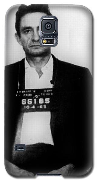 Johnny Cash Mug Shot Vertical Galaxy S5 Case