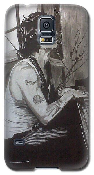 Johnny Depp 1 Galaxy S5 Case by Justin Moore