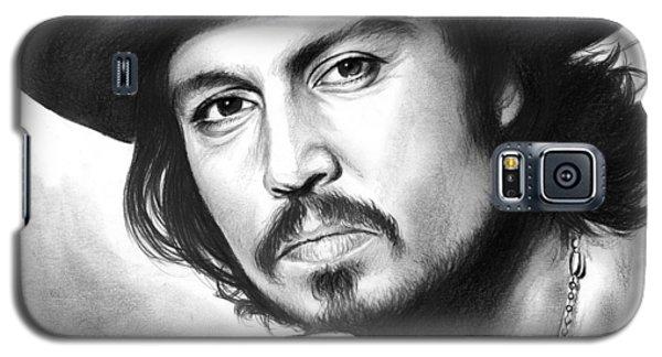 Johnny Depp Galaxy S5 Case - Johnny Depp by Greg Joens