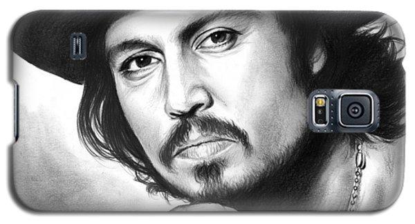 Johnny Depp Galaxy S5 Case by Greg Joens
