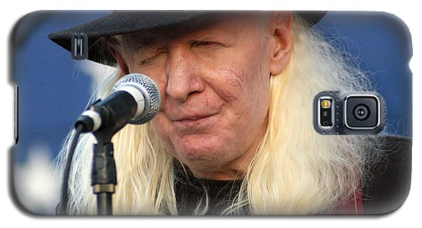 Johnny Winter Galaxy S5 Case by Mike Martin