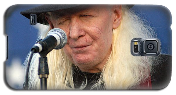 Johnny Winter Galaxy S5 Case