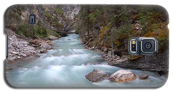 Galaxy S5 Case featuring the photograph Johnston Canyon In Banff National Park by RicardMN Photography