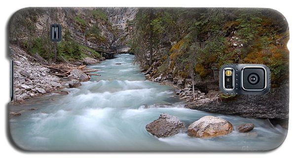 Johnston Canyon In Banff National Park Galaxy S5 Case by RicardMN Photography