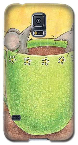 Join Me In A Cup Of Coffee Galaxy S5 Case by Christy Beckwith