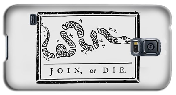Snake Galaxy S5 Case - Join Or Die by War Is Hell Store