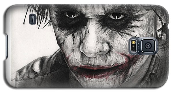 Joker Face Galaxy S5 Case by James Holko