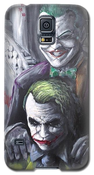 Jokery In Wayne Manor Galaxy S5 Case by Tyler Haddox