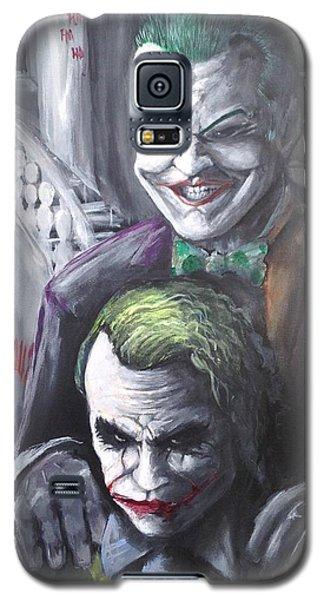 Jokery In Wayne Manor Galaxy S5 Case by Tyler Haddox