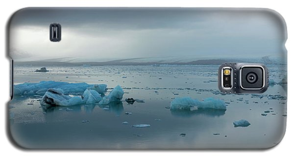 Galaxy S5 Case featuring the photograph Jokulsarlon, The Glacier Lagoon, Iceland 1 by Dubi Roman