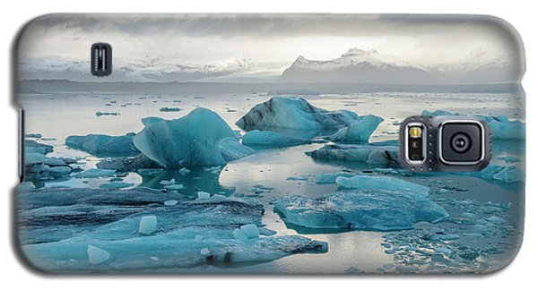 Galaxy S5 Case featuring the photograph Jokulsarlon, The Glacier Lagoon, Iceland 6 by Dubi Roman
