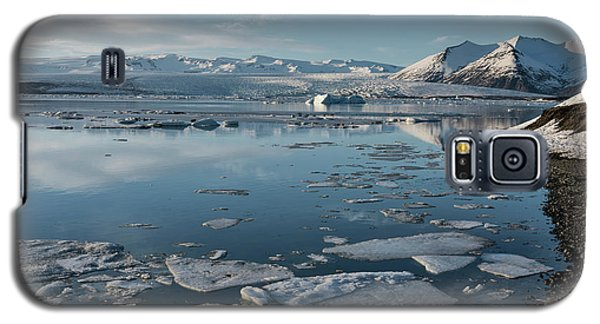 Galaxy S5 Case featuring the photograph Jokulsarlon Ice Lagoon - Iceland by Sandra Bronstein