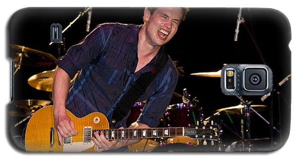 Jonny Lang Rocks His 1958 Les Paul Gibson Guitar Galaxy S5 Case