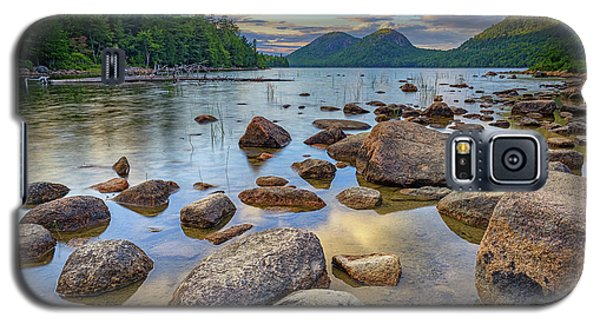 Jordan Pond And The Bubbles Galaxy S5 Case by Rick Berk
