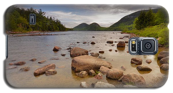 Galaxy S5 Case featuring the photograph Jordan Pond  by Stephen  Vecchiotti