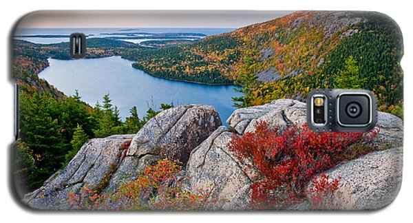Jordan Pond Sunrise  Galaxy S5 Case