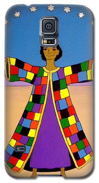 Joseph And His Coat Of Many Colours Galaxy S5 Case by Stephanie Moore