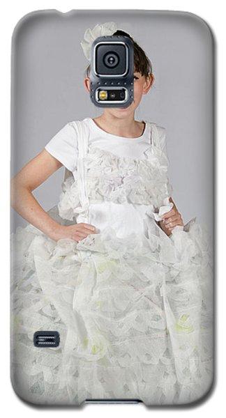 Josette In Dryer Sheet Dress Galaxy S5 Case
