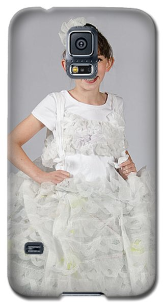 Josette In Dryer Sheet Dress Galaxy S5 Case