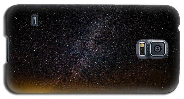Joshua Tree's Fiery Sky Galaxy S5 Case