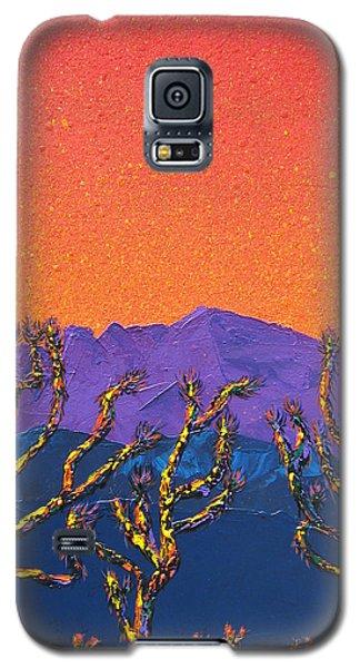 Joshua Trees Galaxy S5 Case by Mayhem Mediums
