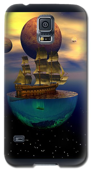 Galaxy S5 Case featuring the digital art Journey Into Imagination by Claude McCoy
