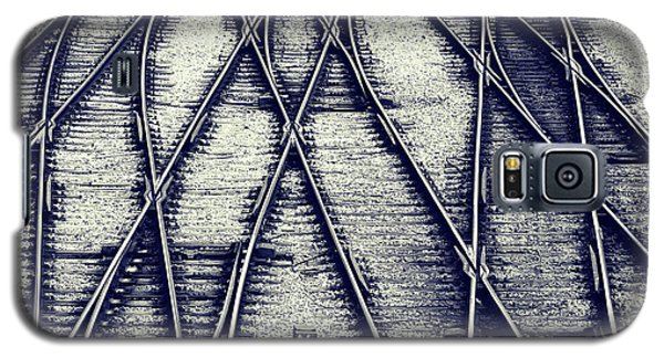 Galaxy S5 Case featuring the photograph Journey Marks by Wayne Sherriff