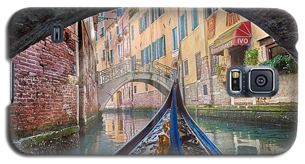 Journey Through Dreams - A Ride On The Canals Of Venice, Italy Galaxy S5 Case