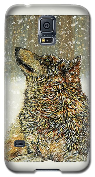 Galaxy S5 Case featuring the painting Joy by Debbie Chamberlin