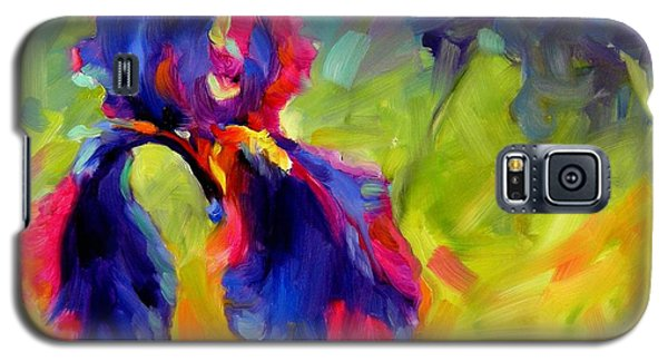 Galaxy S5 Case featuring the painting Joy In The Morning by Chris Brandley
