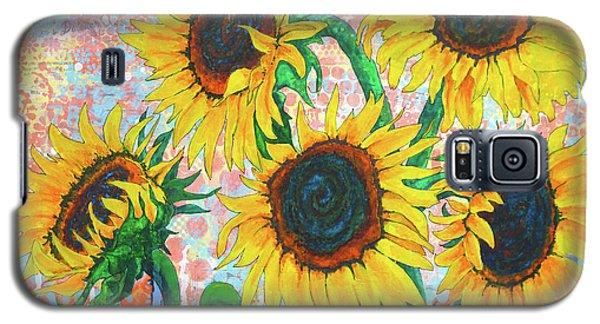 Joy Of Sunflowers Desiring Galaxy S5 Case