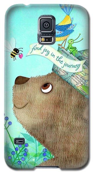 Joy Of The Journey Galaxy S5 Case