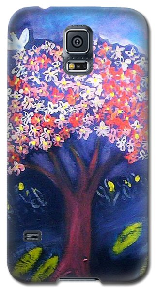 Galaxy S5 Case featuring the painting Joy by Winsome Gunning