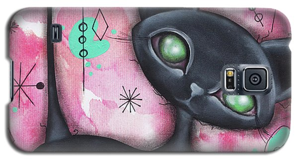 Joyce Cat Galaxy S5 Case by Abril Andrade Griffith