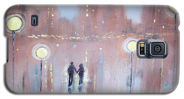Galaxy S5 Case featuring the painting Joyful Bliss by Raymond Doward