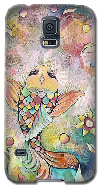 Joyful Koi I Galaxy S5 Case by Shadia Derbyshire