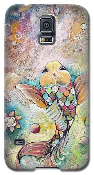 Joyful Koi II Galaxy S5 Case by Shadia Derbyshire
