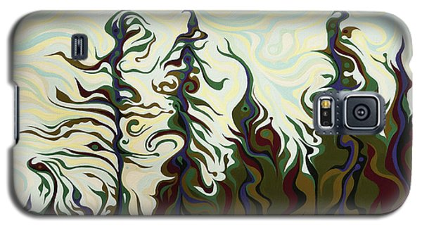 Joyful Pines, Whispering Lines Galaxy S5 Case