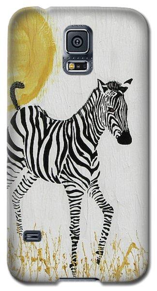 Galaxy S5 Case featuring the painting Joyful by Stephanie Grant