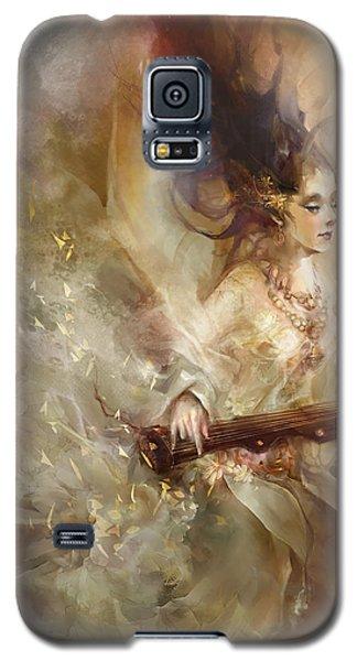 Galaxy S5 Case featuring the digital art Joyment by Te Hu