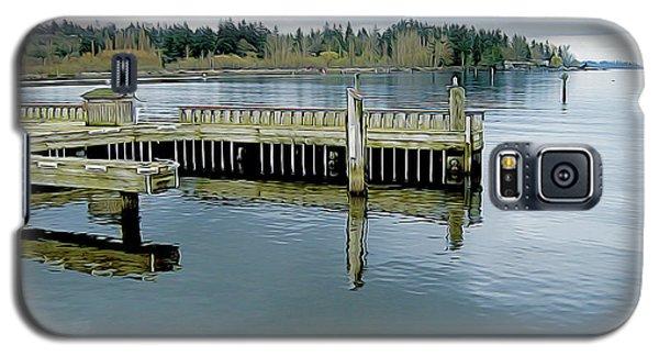 Juanita Bay In Gray Galaxy S5 Case