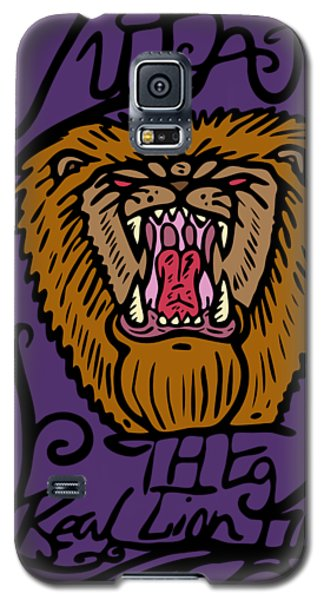 Judah The Real Lion King Galaxy S5 Case