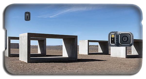 Judd's Cubes By Donald Judd In Marfa Galaxy S5 Case