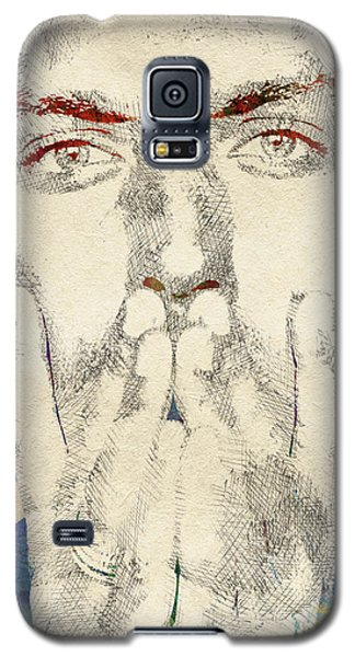 Jude Law Galaxy S5 Case by Mihaela Pater
